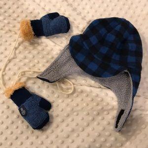Toddler Winter hat & mittens